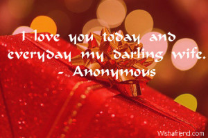Love Quotes For My Wife On Her Birthday ~ Birthday Quotes For Wife