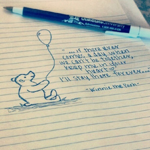 Pooh bear(: #quotes #wordstoliveby #pooh #winniethepooh #sobored...