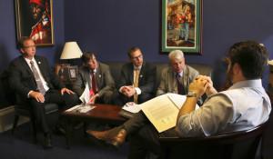 ... of Congressman Cedric Richmond (D-LA). Photo: Ed Lallo/Newsroom Ink