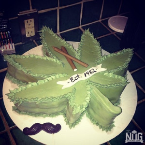 Happy Birthday! Weed Cakes | The Nug