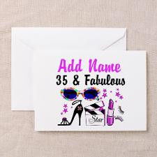 HAPPY 35TH BIRTHDAY Greeting Cards (Pk of 20) for