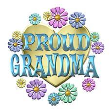 Proud Grandma Poster