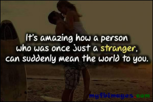 its amazing how a person...'amazing quote pic'