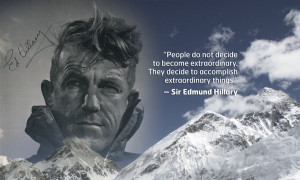 Sir Edmund Hillary Quotes