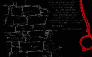 Freedom Quotes Wallpaper 1280x800 Freedom, Quotes, USA, Frank, Lloyd ...