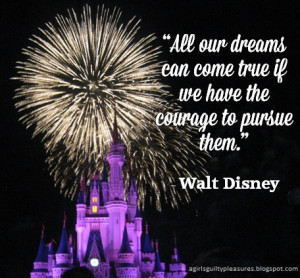 Quote of the Day: Walt Disney