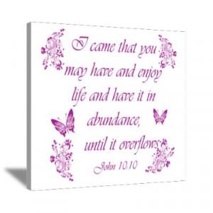 ... Art > Canvas Art > Inspirational Christian quotes Wall Art Canvas Art