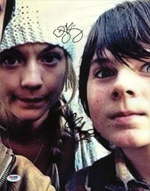 PPC Chandler Riggs & Emily Kinney The Walking Dead Signed 11X14 Photo ...