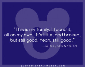 lilo and stitch quotes family