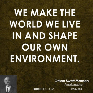 Orison Swett Marden Motivational Quotes