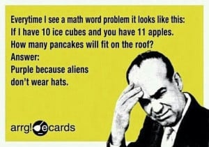 """... with a Math website starting a conversation with """"Why Math Sucks"""