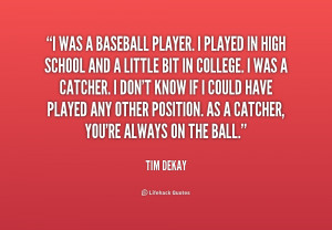 Quotes About Baseball Players