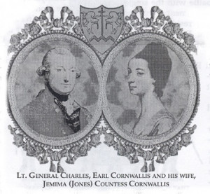On July 14th 1768 Charles Cornwallis married Jemima Jones. They would ...