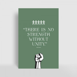 Home / Artist / Irish Proverb / There Is No Strength Without Unity