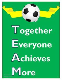 Soccer Team Classroom Theme Pack- 94 pages of awesome soccer-themed ...