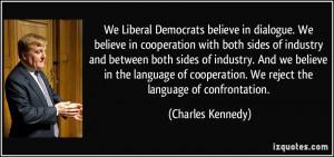 Liberal Democrats quote #1