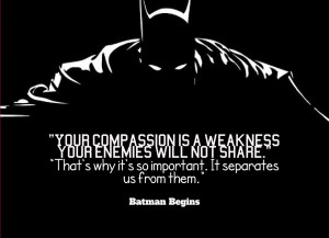 Many More Book Quotes (Plus a Quote From Batman)
