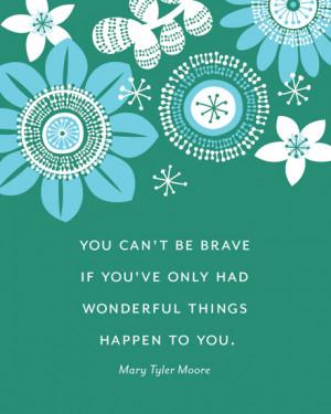 Quote-Bravery