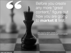 Before you create any more 'great content,' figure out how you are ...