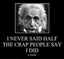 Funny Einstein Quotes