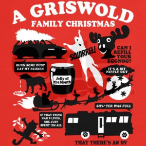 Christmas Vacation Quotes Tee on