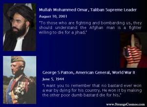 GENERAL PATTON vs. ISLAMIC MULLAH QUOTES