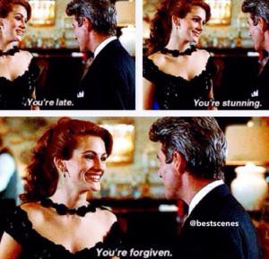 Pretty Woman Quotes Movie, Woman 1990, Romantic Movie, Movie Scene ...