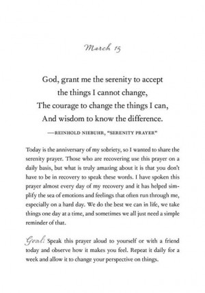 """Demi Lovato Shares """"Serenity Prayer"""" She Uses Daily to Help Stay ..."""