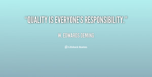 Everyone Responsibility