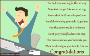 Congratulations for Job Promotion: Poems for Promotion at Work