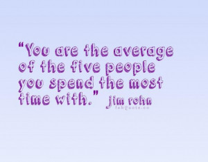 Jim rohn who you are quote