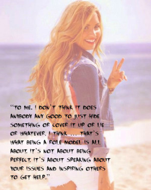 Demi lovato, quotes, sayings, role model