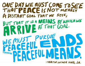 Martin Luther King Jr Quotes About Peace