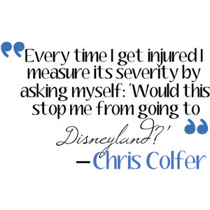 Chris Colfer quote ( Kurt from Glee ) by {MεG}.♥.♫.
