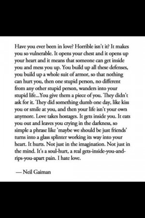 love this quote. Harsh but true