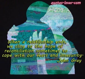 ... Reconciliation #picturequotes #JohnGray View more #quotes on http