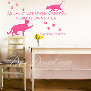 As-Every-Cat-Art-Wall-Quotes-Wall-Stickers-Living-Room-Wall-Decals