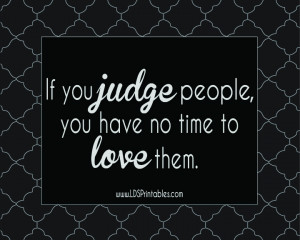 Christians Who Judge Others Quotes
