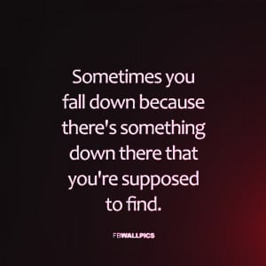 Falling Down Quote Picture