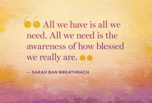 10 Ways to Rediscover Everything You've Got—Sarah Ban Breathnach ...