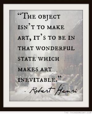 robert henri quotes