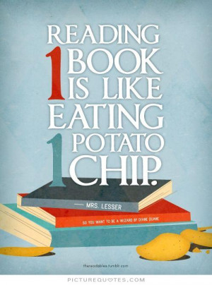 Reading Quotes And Sayings chip Picture Quote 1