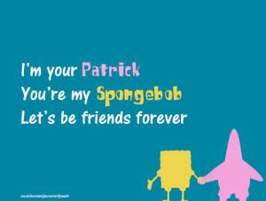 ... inseparables, friendship, love, spongebob and patrick, strong feelings