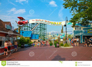 The Boardwalk Quot Hersheypark Royalty Free Stock Images Image