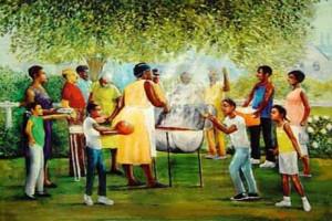 Black Family Reunion Celebration
