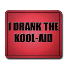 Drank The Kool-Aid Mouse Pad-Red for