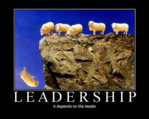 ... Funny: Project Management Leadership – It Depends On The Leader