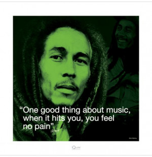 Art Print Bob Marley - One