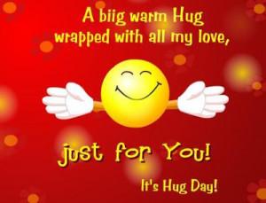 Hug Day Quotes In English | Hug Day Sayings