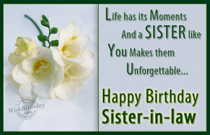 happy birthday sister in law quotes brother and sister in law